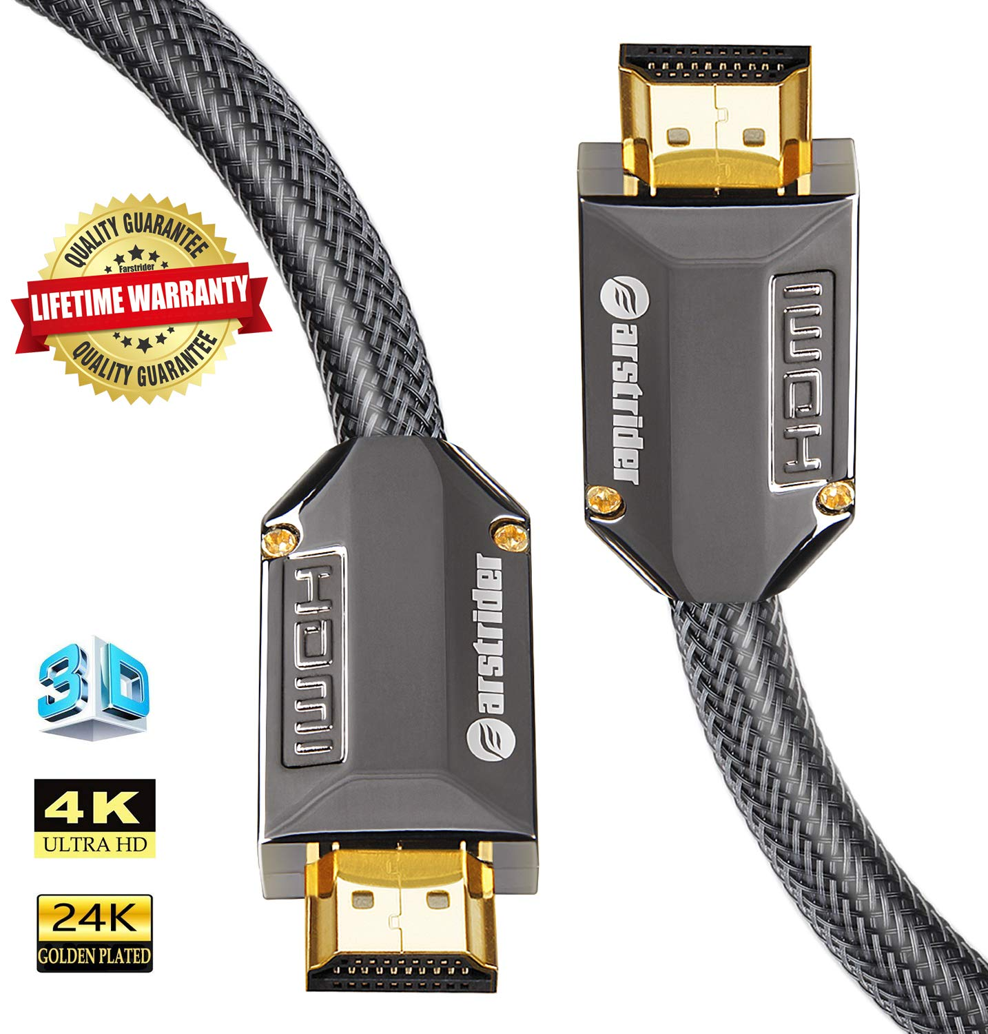 Amazon.com: farstrider HDMI V2.0/1.4 a Cable HDMI Ultra Alta ...