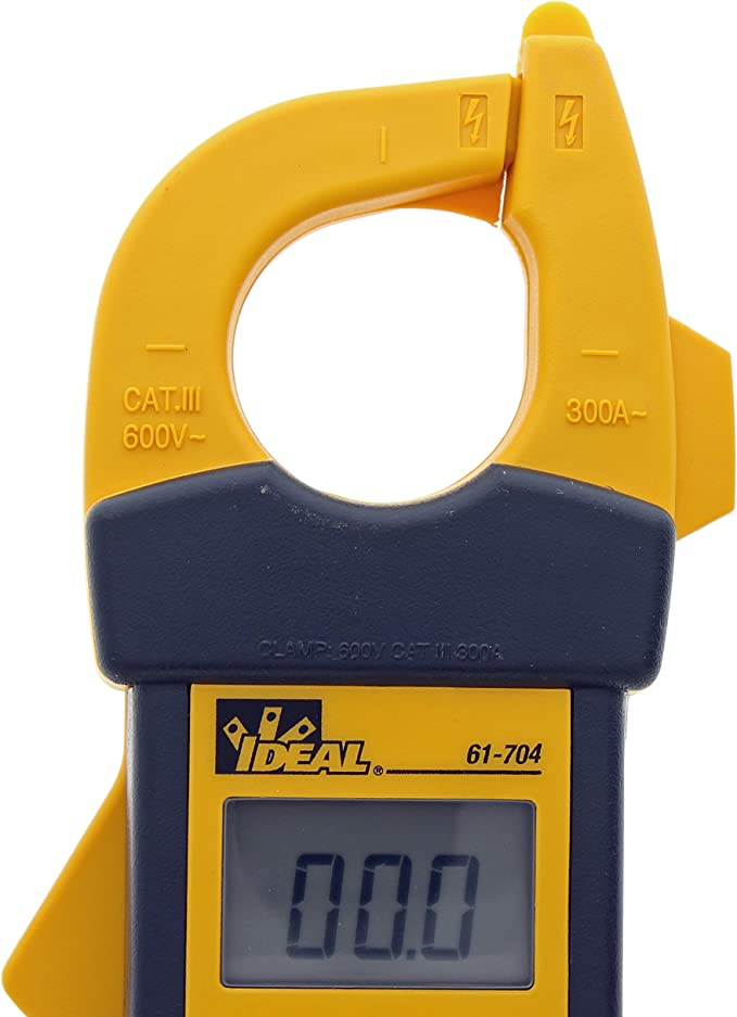 CP Shaker Ideal 61-704 Clamp Meter w// TRMS Backlight NCV