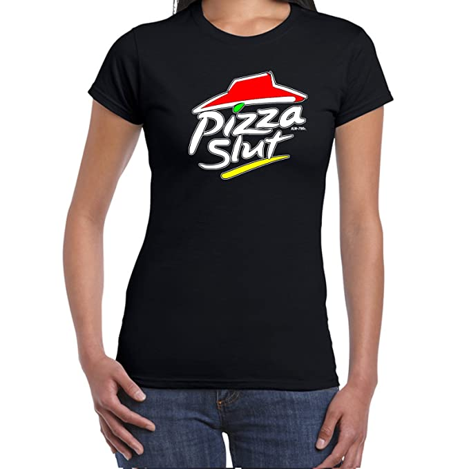 ac673801c4 Starlite-Womens Funny Sayings Slogans T Shirts-PIZZA SLUT tshirt-Ideal  Gift: Amazon.ca: Clothing & Accessories