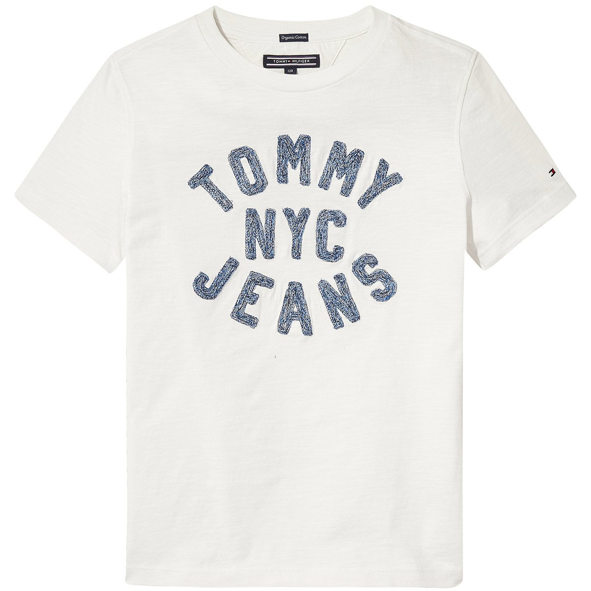 Tommy Hilfiger - D Texture CHAINSTITCH tee S/S - Polo NIÑO: Amazon ...