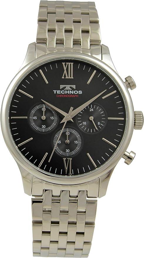 [テクノス] 腕時計 T9A23SB メンズ シルバー