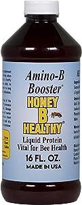 Amino-B Booster 16 oz. Bottle, Liquid Protein Vital for Bee Health