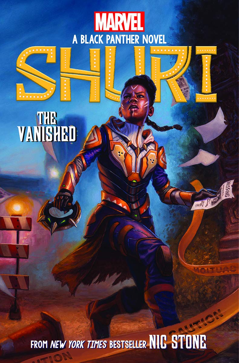 The Vanished (Shuri: A Black Panther Novel #2) (2): Stone, Nic:  9781338587180: Amazon.com: Books