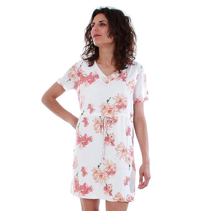 Vero Moda Vestido Mujer XS Blanco 10201493 VMNEWOCCASION S/S Short Dress D2 LCS Snow