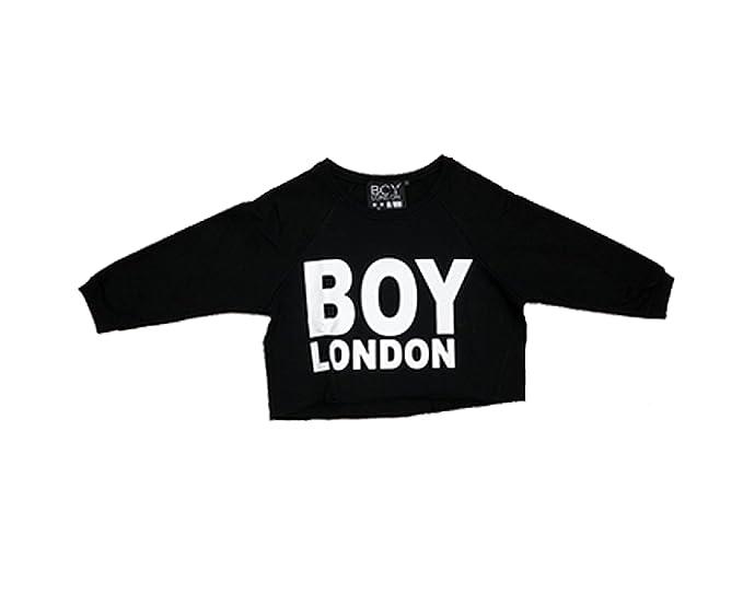 Boy London - Sudadera - para mujer Negro S : Amazon.es: Ropa y accesorios
