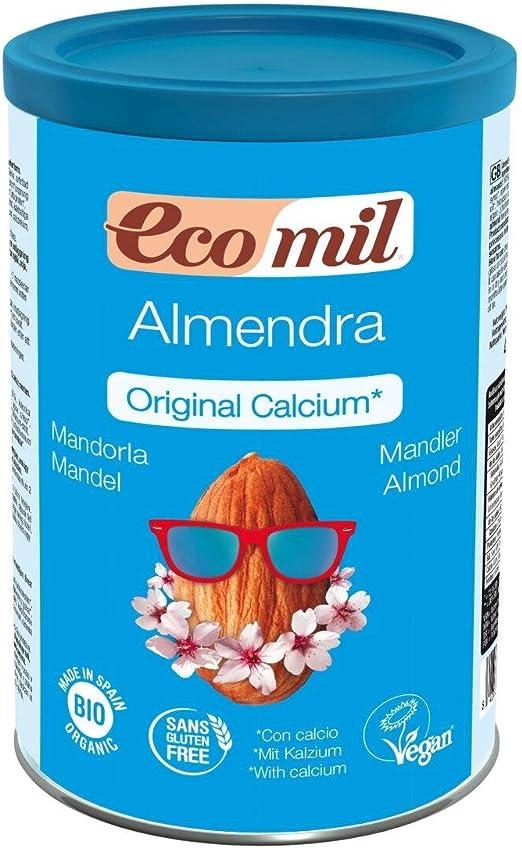 Bebida de Almendra (con Calcio) 400 gr de Ecomil: Amazon.es: Hogar