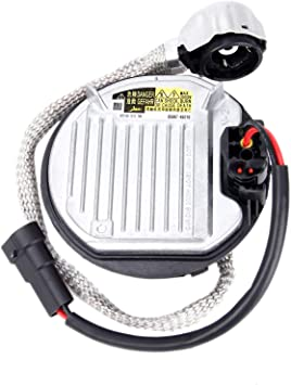 Volkswagen Lincoln Chrysler Saab Hyundai Fits for BMW Mercedes Cadillac Jaguar 85967-45010 Xenon HID Ballast Headlight Replaces# DDLT004 KDLS001 Control Unit Module D4S//D4R with Igniter/&Cable