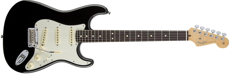 Guitarra electrica de 6 cuerdas Fender American Standard Stratocaster Rosewood Fingerboard Black: Amazon.es: Instrumentos musicales