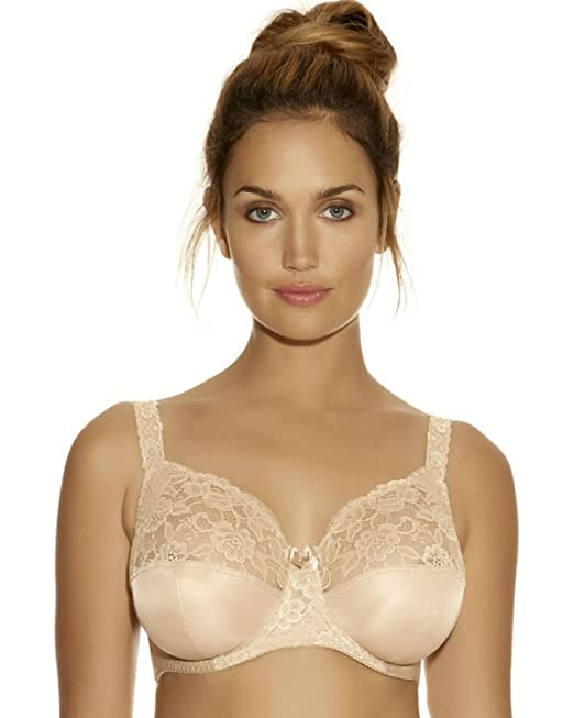 8bf5321a6cd6a Fantasie 7700 Helena Underwired Non Padded Full Coverage Cup Bra   Amazon.co.uk  Clothing