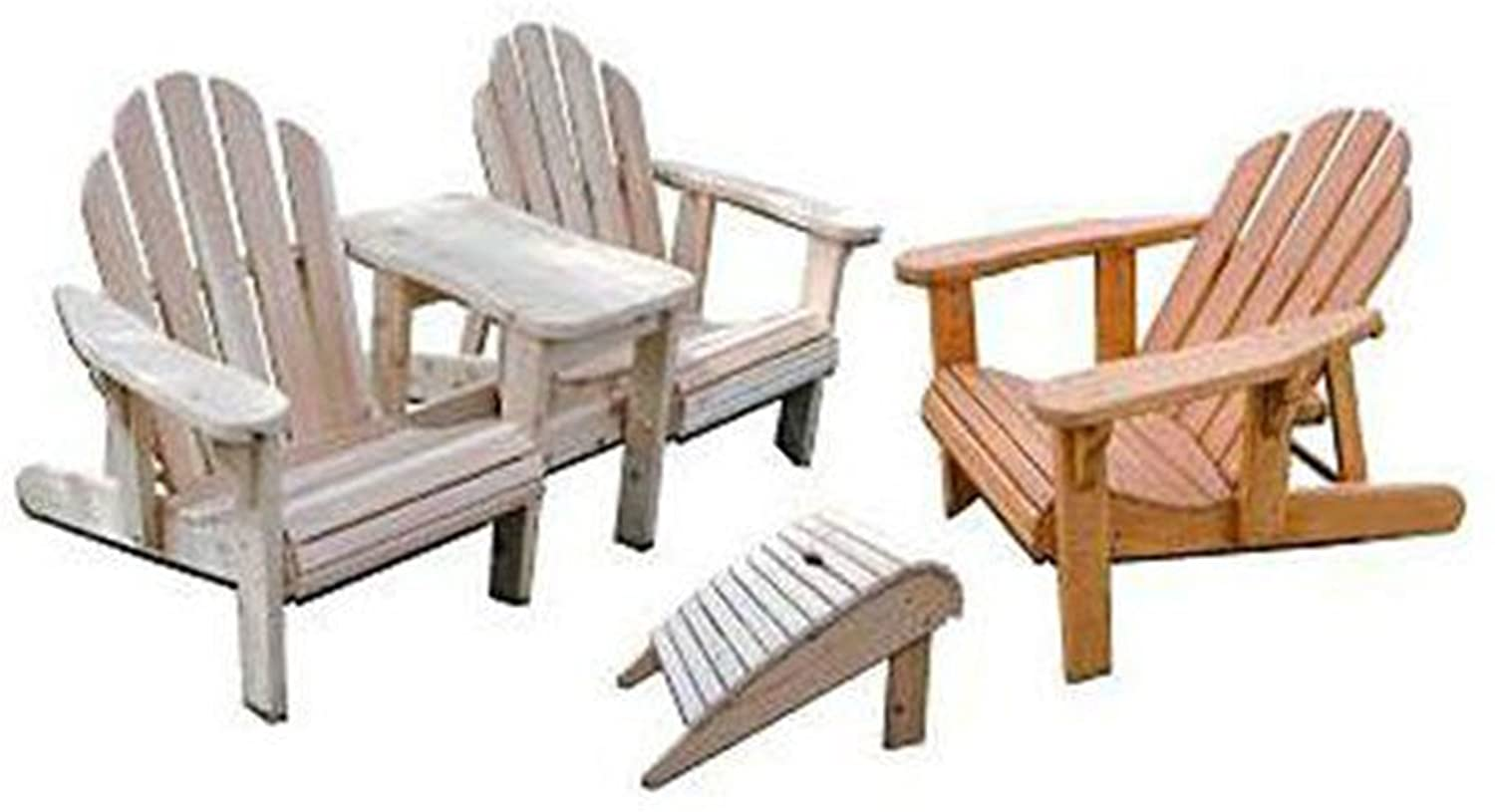 Woodworking Project Paper Plan to Build Adirondack Plan Value Pack - Outdoor Furniture Woodworking Project Plans -
