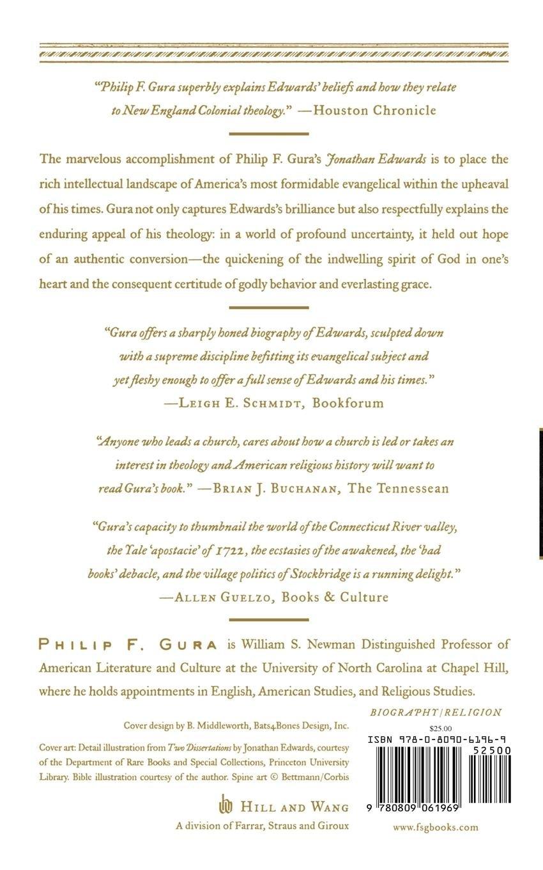 Jonathan Edwards: America's Evangelical (American Portrait (Hill and Wang)):  Philip F. Gura: 9780809061969: Amazon.com: Books