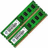 4GB 2X2GB 2Rx8 PC3-8500U-DDR3-1066MHz Desktop Memory RAM New BY XUM