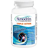 Synodrin Triple Action Complete Joint Arthritis Pain Relief Supplement (90 Count) Includes Immunodrin, Glucosamine, Turmeric, Boswellia, Hyaluronic Acid & Black Pepper Extract for Maximum Pain Relief