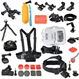 Newmowa Waterproof Case 19-in-1 Accessories Kit for Polaroid Cube