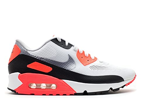 e05be342ccb Nike Air Max 90 HYP NRG Hyperfuse 2012 - White Cement Grey-Infrared 7 UK   Amazon.co.uk  Shoes   Bags