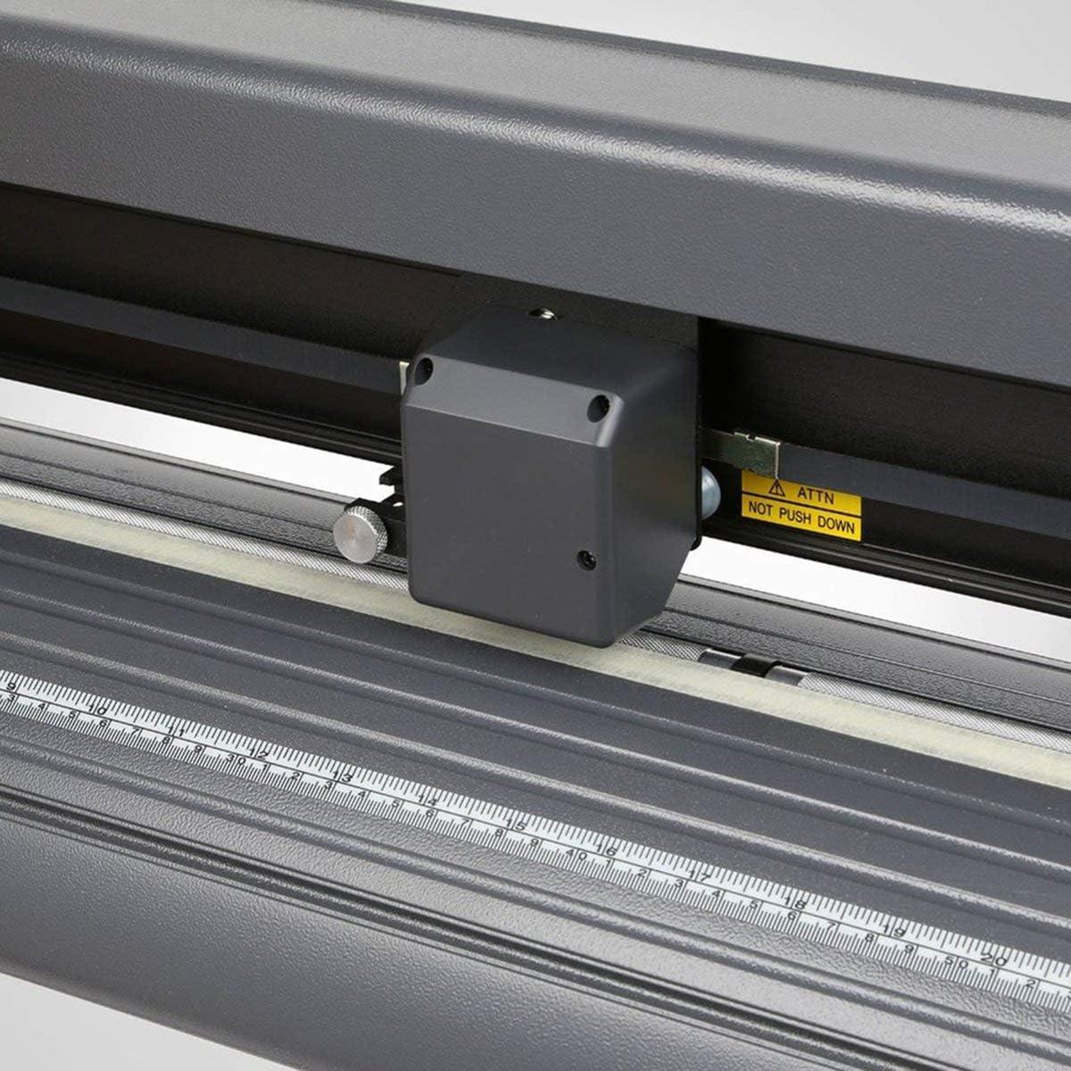 sk-720t Plotter de Corte rastreador de la Guillotina Software de la Máquina Signo de Corte con Socket, Negro Type:AU: Amazon.es: Electrónica