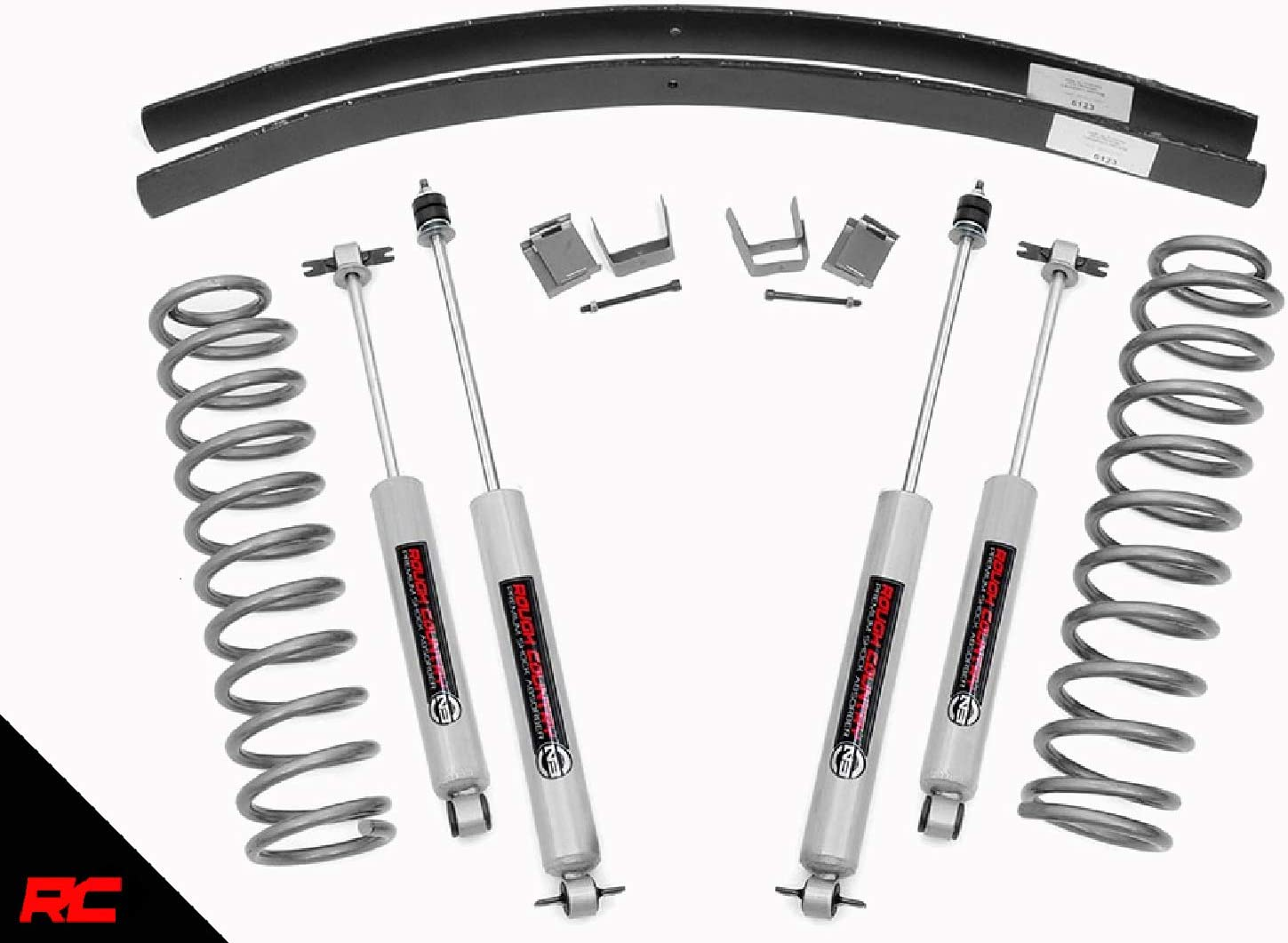 """Jeep XJ Cherokee Shackle Relocation Kit Adds approximately 1/""""-1.5/"""" of Lift 4X4"""