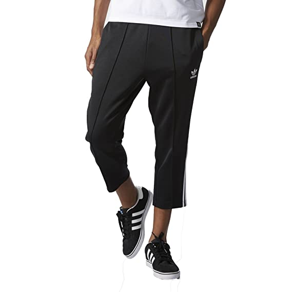 Superstar Relaxed Fit Crop Pant, Black