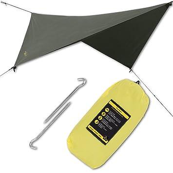 HAMMOCK RAIN SUN FLY TENT TARP Waterproof C&ing Shelter. Lightweight Easy Setup Best  sc 1 st  Amazon.com & Amazon.com : HAMMOCK RAIN SUN FLY TENT TARP Waterproof Camping ...