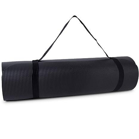 Amazon.com : Tone Fitness High Density Yoga Exercise Mat ...