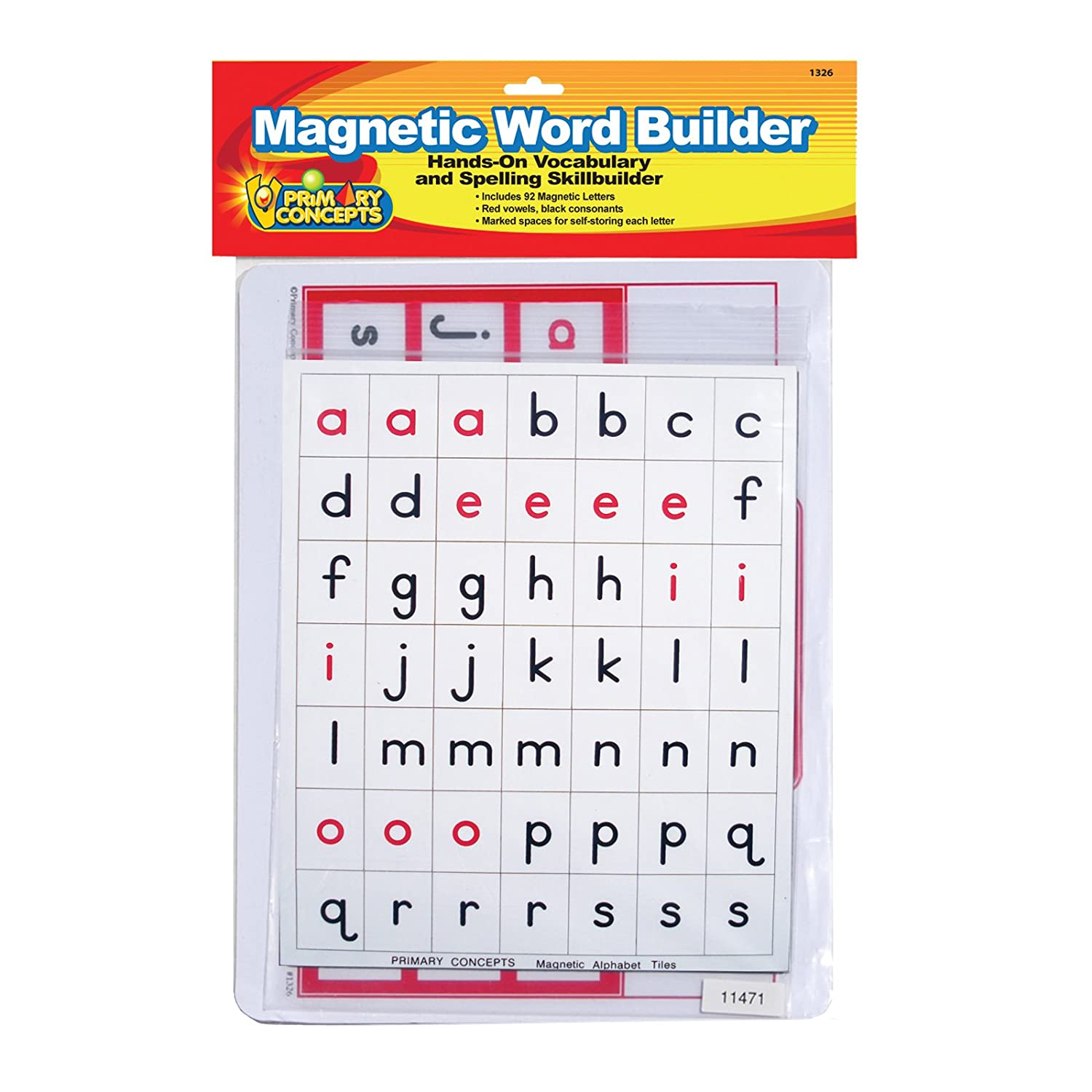Amazon Primary Concepts Inc Pc 1326 Magnetic Word Builder