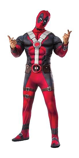 Rubies I-820181XL - Disfraz de Deadpool, hombres, talla XL-talla única
