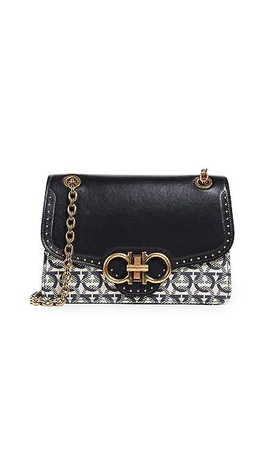 b4bf231703 Amazon.com  Salvatore Ferragamo Women s Gancino Shoulder Bag