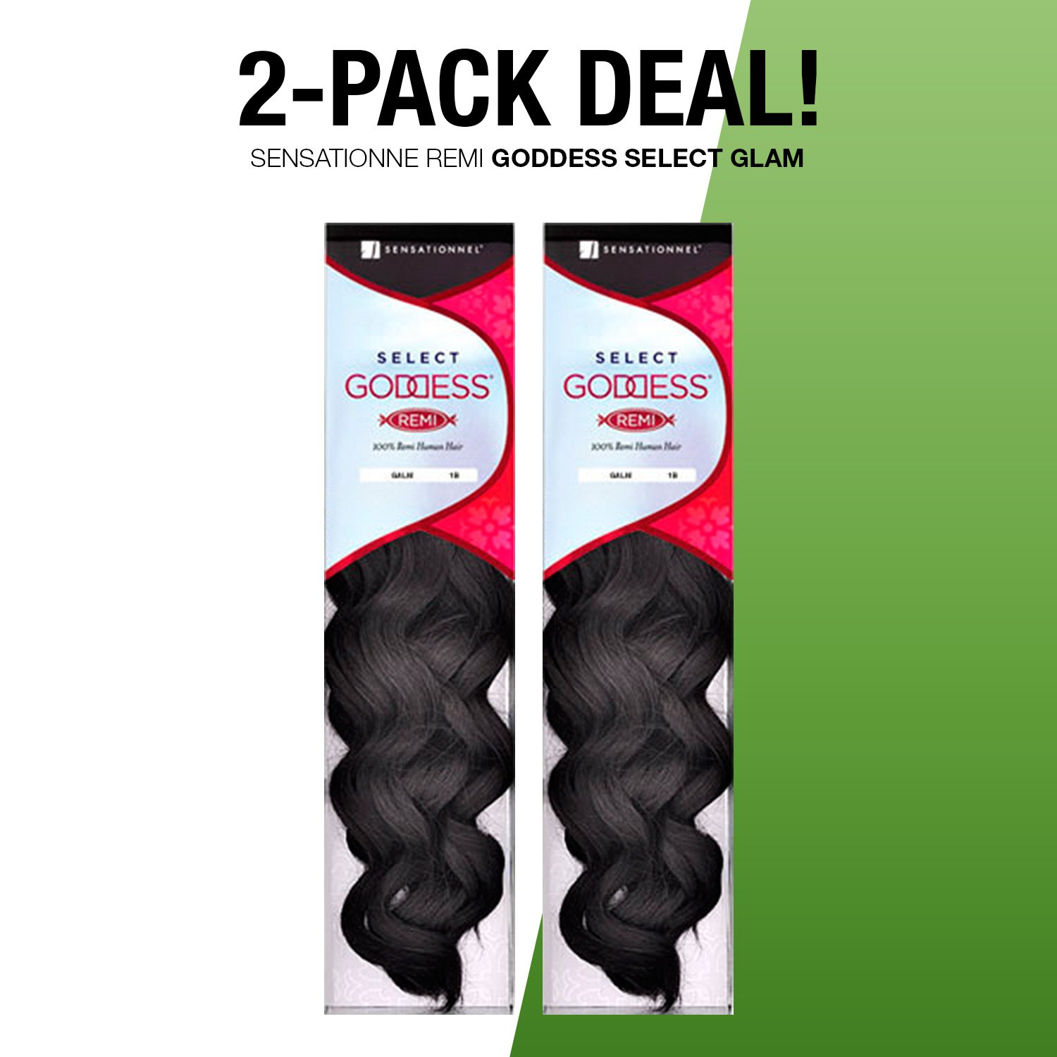Amazon 2 Pack Deals Remi Human Hair Weave Sensationnel