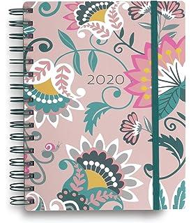 Amazon.com : Vera Bradley 17 Month Medium Hardcover Planner ...