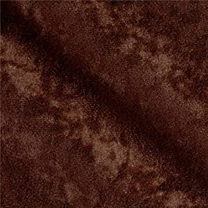 Plastex Soft Suede Brown Fabric By The Yard