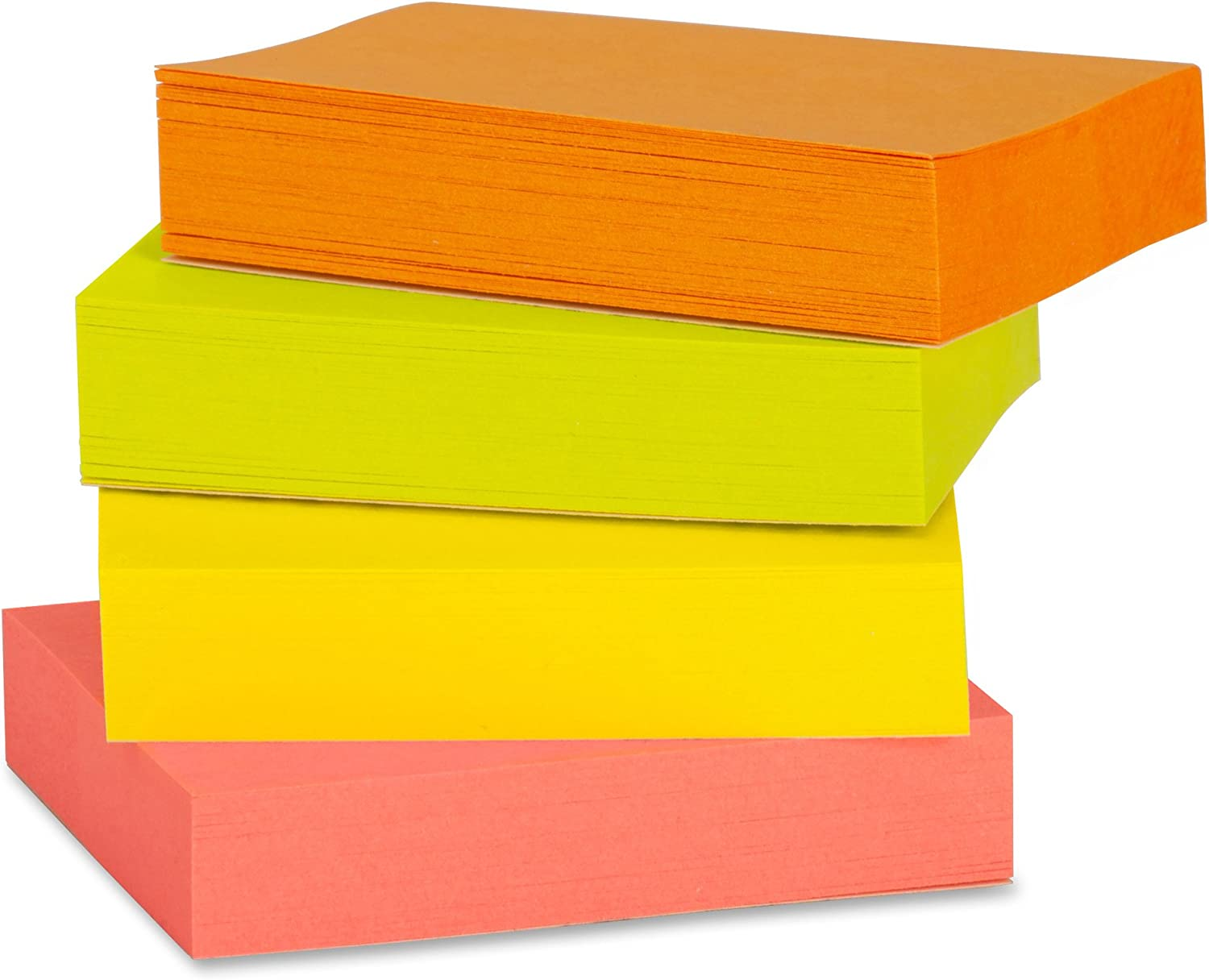 Pack of 12 Pads of 100 Extreme Business Source Premium Adhesive Notes 1.5 x 2 Inches