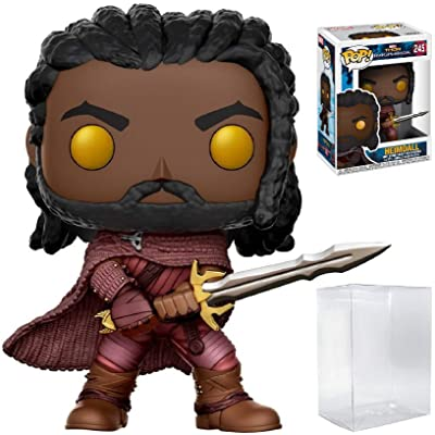 Funko Pop! Marvel: Thor Ragnarok - Heimdall #245 Vinyl Figure (Bundled with Pop Box Protector CASE): Toys & Games
