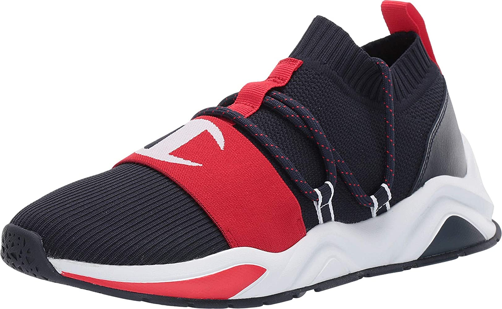 Champion Rally Hype Lo Navy/Scarlet