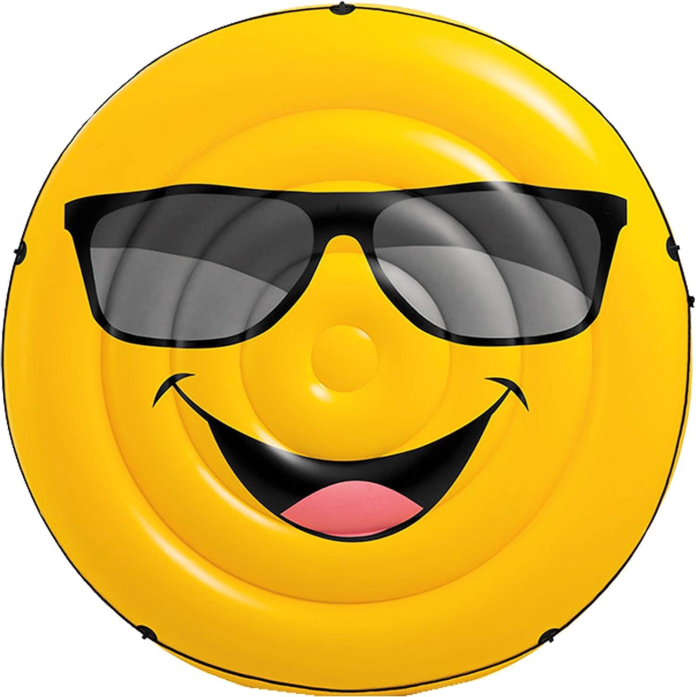 Intex 57254EU - Colchoneta hinchable emoji 173 x 27 cm: Amazon.es ...