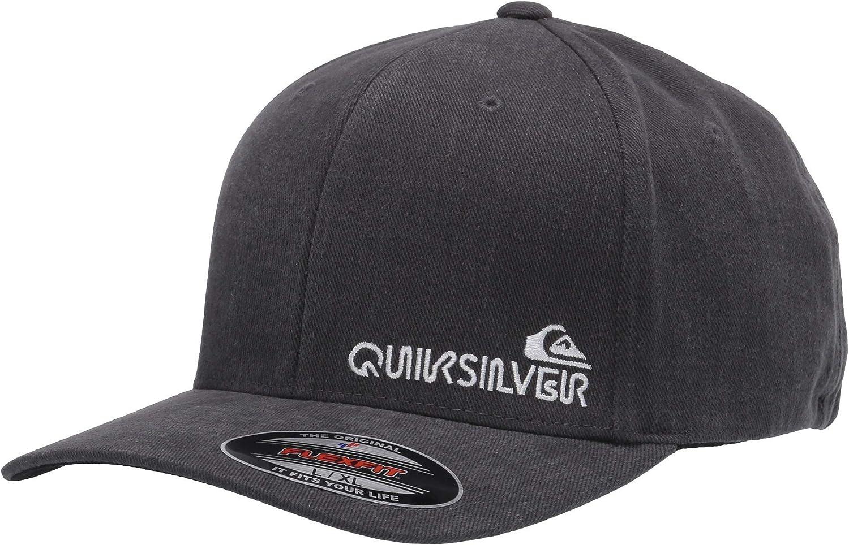 QUIKSILVER Sidestay - Gorro para hombre - Gris - Small/Medium ...