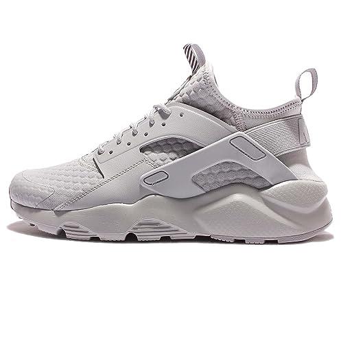 ab406d211d5a Nike Men s AIR Huarache Run Ultra SE PREM Wolf Grey Running Shoes-10 ...