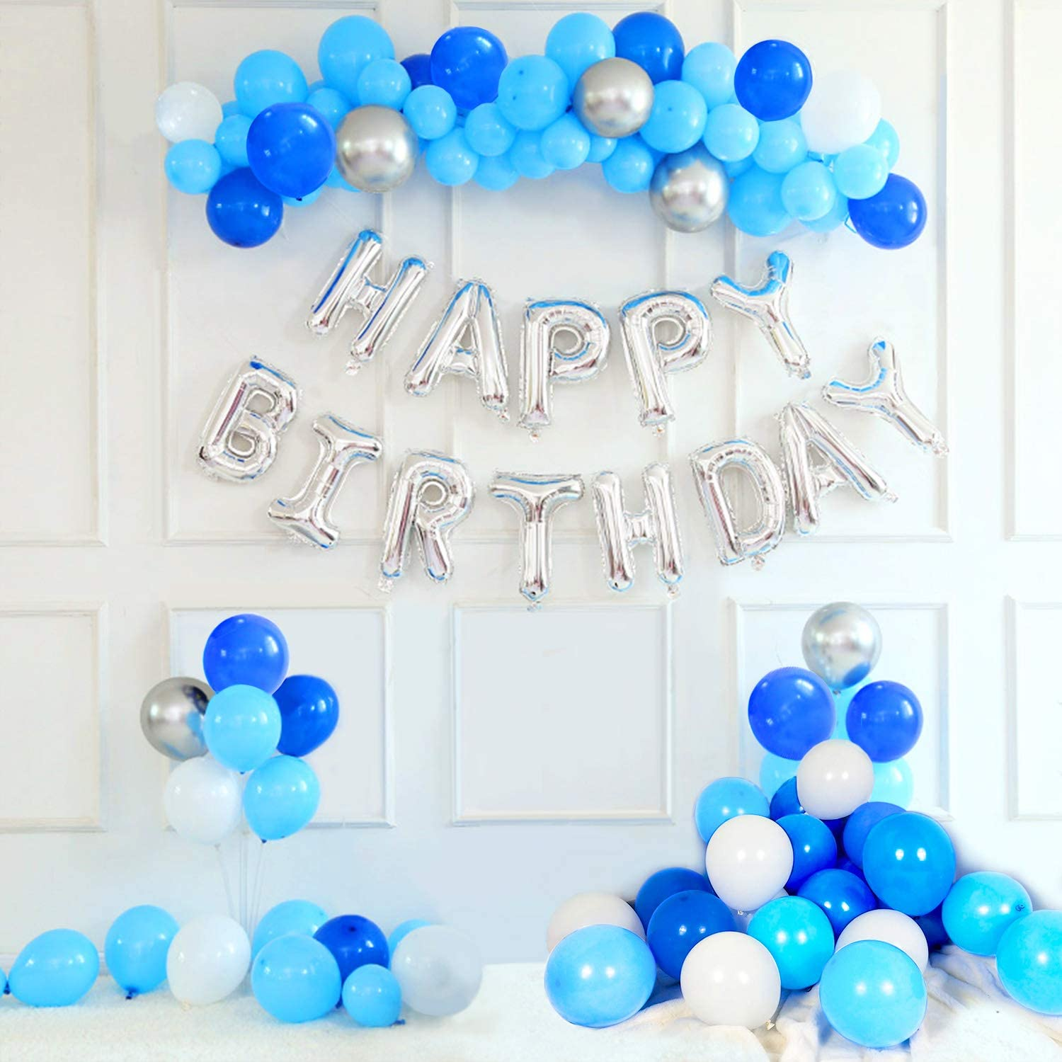 Foil Happy Birthday Balloon Lock down Birthday Party Air Filled Decoration Event