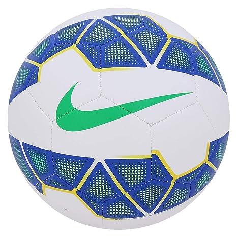 Nike Balón de fútbol Strike, White/Blue/Yellow/Green, 5, SC2600 ...