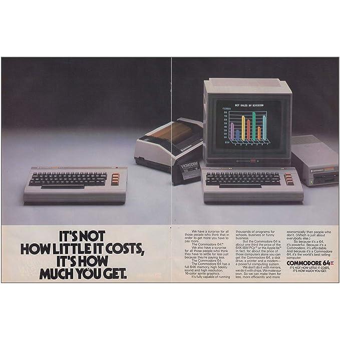 Amazon com: RelicPaper 1984 Commodore 64: How Little It