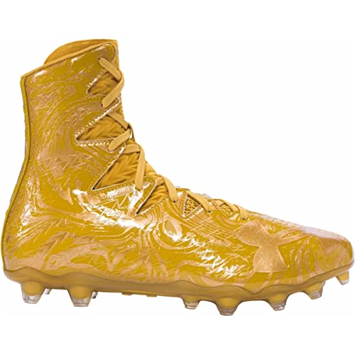 d0f8e91cb721 Under Armour Highlight Lux MC Football Cleats (6.5, Gold/Gold ...