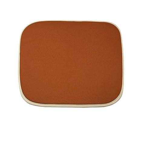 Amazon.com: Uxcell Naranja Forma Cuadrada Cojín Mat w 2 ...