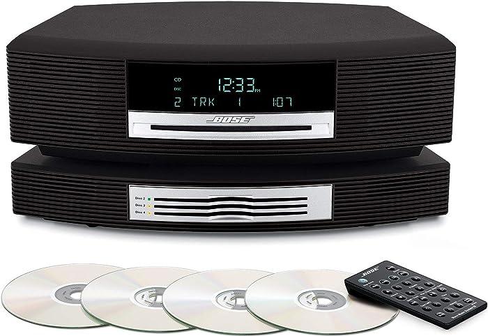 Bose Wave Music System Bundle with Bose Wave Multi-CD Changer, Graphite Grey - Black (Renewed) BRAND NEW !