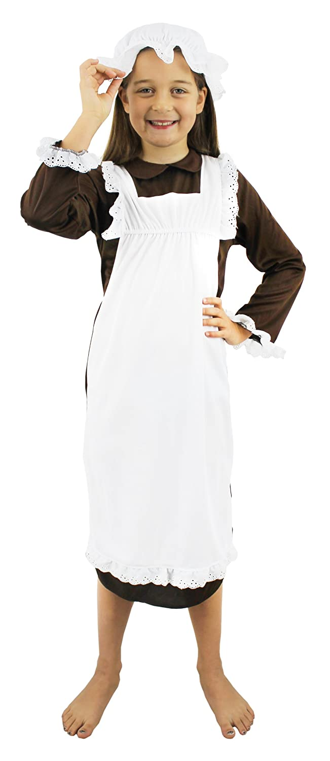 GIRLS VICTORIAN MAID FANCY DRESS COSTUME SCHOOL CURRICULUM OUTFIT HISTORIC MAIDEN TUDOR POOR GIRL Amazon.co.uk Toys u0026 Games  sc 1 st  Amazon UK & GIRLS VICTORIAN MAID FANCY DRESS COSTUME SCHOOL CURRICULUM OUTFIT ...