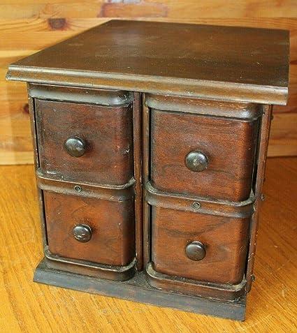 Amazon com : Singer Sewing Machine Desk Drawers wooden 4
