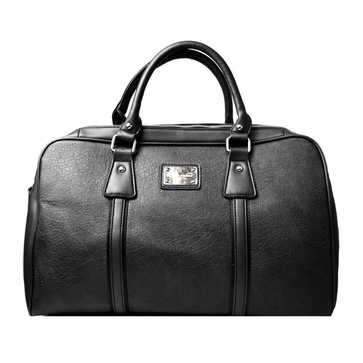 [ウィークエンド] WEEKEND ボストンバッグ メンズ バック 2way ボストン カバン 鞄 ショルダーバッグ【NO.2518】 B076HLG69X  ブラック