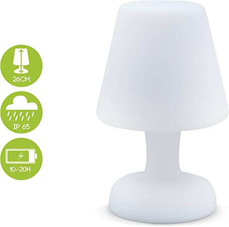 Alice S Garden Lampe De Table Led 26cm Lampe De Table