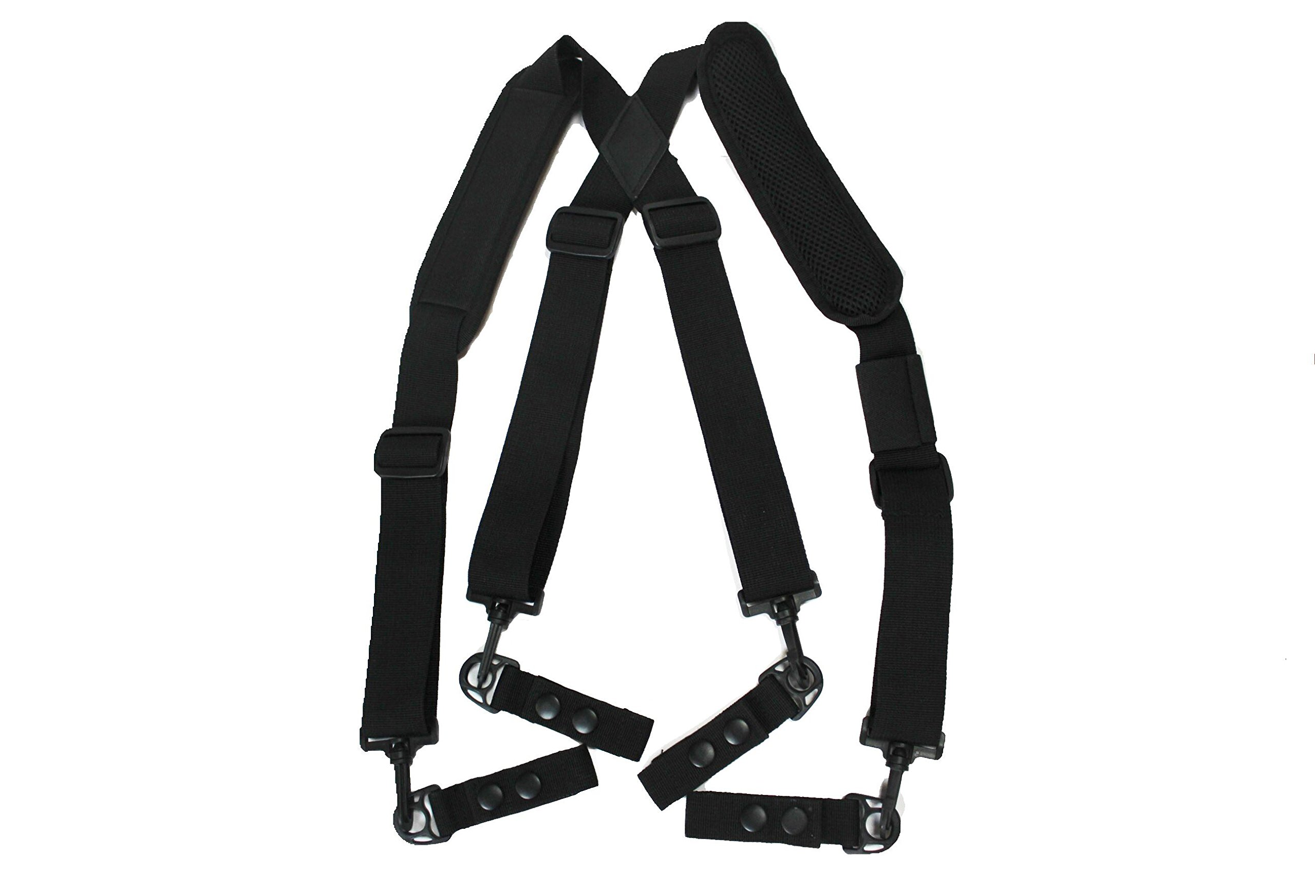 MeloTough suspenders,Duty Belt Suspenders with Padded Adjustable tool belt Suspenders