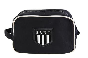 bb008766abf Gant Toiletry Bag Toiletry Wash Bag Black 100% Cotton: Amazon.co.uk ...