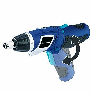 Einhell 4513385 ATORNILLADOR LITIO BLUE BT-SD 3,6 Li/1 4.68 W, 3.6 V, Negro, Azul, Plata: Amazon.es: Bricolaje y herramientas