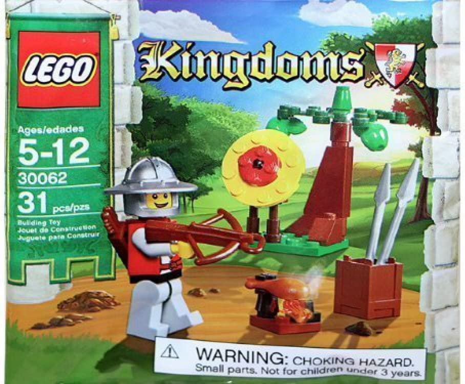 LEGO Kingdoms Target Practice Castle Knight Polybag Factory Sealed 30062